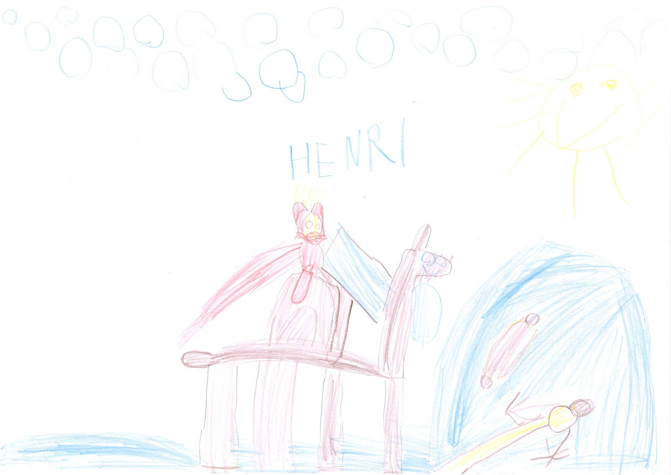 Henri, 5 Jahre