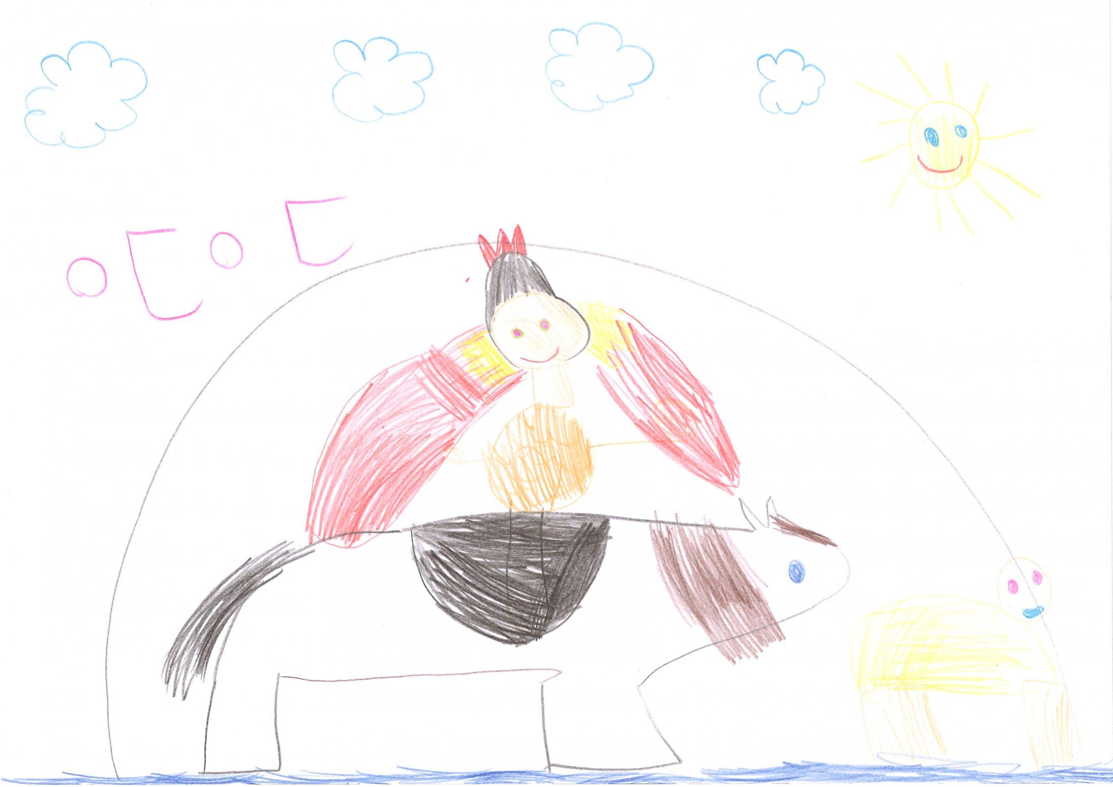Johanna, 5 Jahre