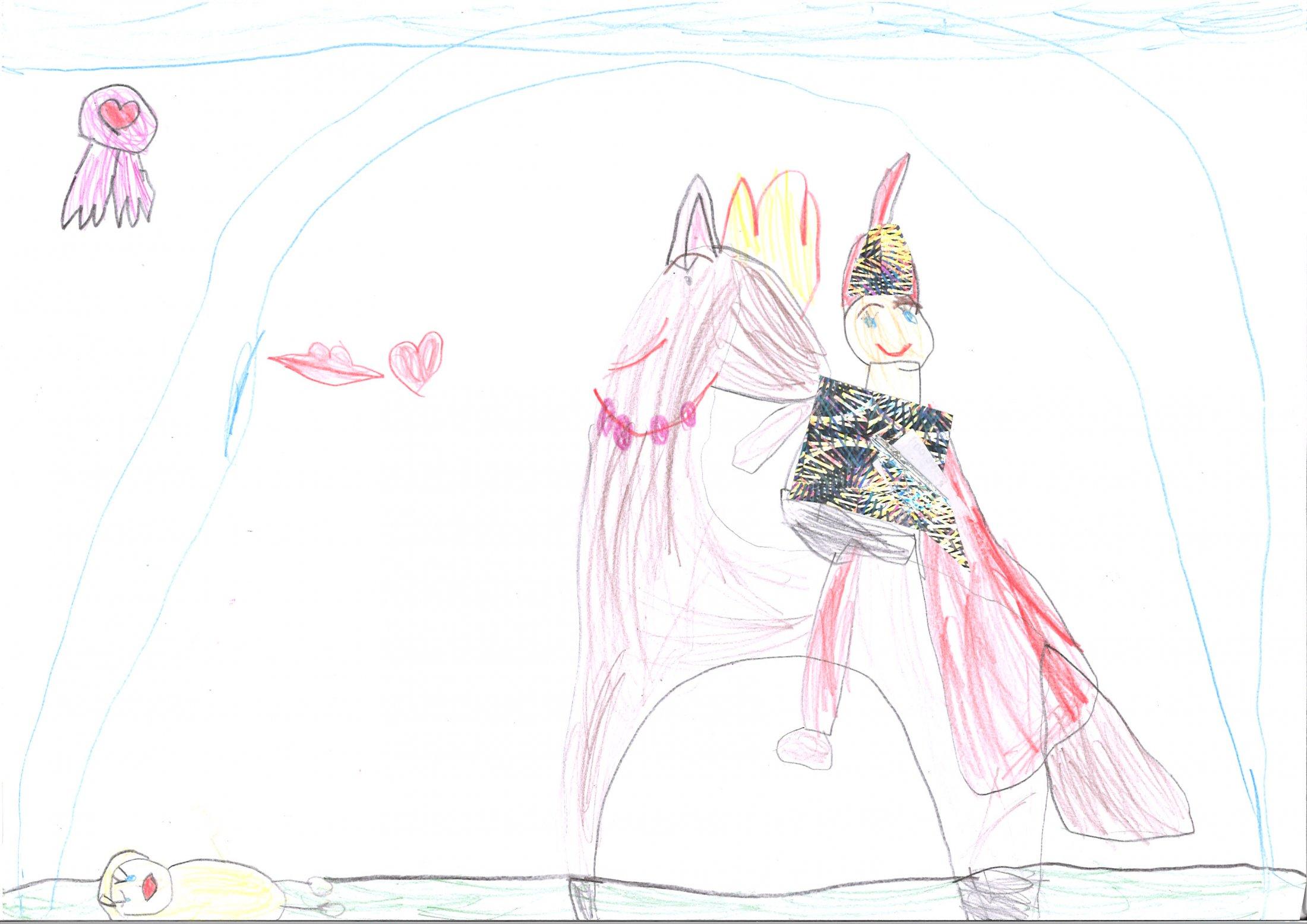 Leyla, 5 Jahre